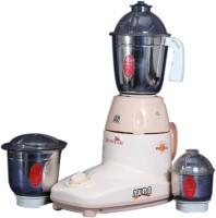 Zenstar Avro 500 W Mixer Grinder White, 3 Jars