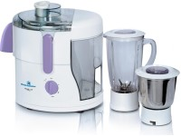 Kelvinator DXKJM-5012 500 W Juicer Mixer Grinder White, 2 Jars