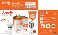 Lords Jolly 450 W Juicer Mixer Grinder