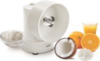 Unichef Coconut Grater with Citrus Attachment 350 W Juicer Mixer Grinder