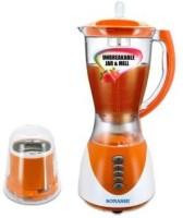 Sonashi SBOP-001 300 W Mixer Grinder Orange, 2 Jars