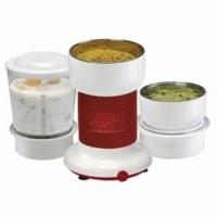 Anjali 1 Minute Wet & Dry Multifunction 160 W Mixer Grinder White, 3 Jars
