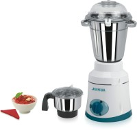 Jusal Commercial 1200 W Mixer Grinder White, 2 Jars