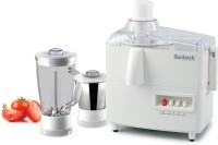Suntreck Mark-1 500 W Juicer Mixer Grinder White, 2 Jars