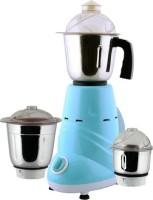 Anjalimix Zobo 600 W Mixer Grinder Blue, 3 Jars
