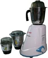 Bajaj Vacco M-03 Mixer Three in One 500 W Mixer Grinder White, 3 Jars