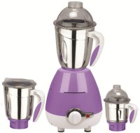 NDura Galaxy 750 W Mixer Grinder Purple, 3 Jars