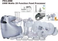 Black & Decker FX1200 Food Processor 1000 W Juicer Mixer Grinder
