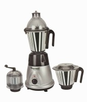 Sumeet Domestic Plus 2015 750 W Juicer Mixer Grinder Silver, 3 Jars