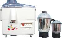 Sarita AE-511 450 W Juicer Mixer Grinder White, 2 Jars