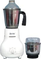 Sarita AE-011 400 W Mixer Grinder White, 2 Jars