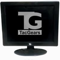 TacGears 15 inch LCD - TG Monitor Black, Grey