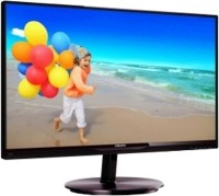 Philips 21.5 inch LED Backlit LCD - 224E5QHSB Monitor Black