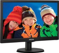 Philips 163V5LSB23 15.6 inch LED Backlit LCD Monitor Black