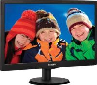 Philips 203V5LSB26 19.5 inch LED Backlit LCD Monitor Black