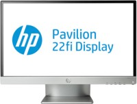 HP 21.5 inch LED Backlit LCD - 22fi IPS Monitor Black & Silver