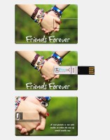 Prinzox Credit Card Shape Firneds Forever Theme 8 GB Pen Drive