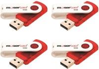 Moserbaer Pack-4 Swivel 16 GB Pen Drive