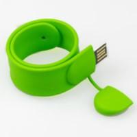 Brandaxis Wristband 4 GB Pen Drive Green