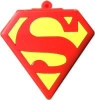 The Fappy Store Super Man logo 32 GB Pen Drive Multicolor