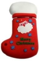 Microware Santa Claus Christmas Stockings Shape 4 GB Pen Drive Red