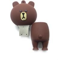 Smiledrive Cute Teddy Fancy Designer USB 16 GB Pen Drive Multicolor