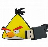 Its Our Studio Angry Birds Designer 8 GB Pen Drive Yellow