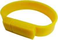 Capitel Wrist Band 8 GB Fancy Pendrive Yellow