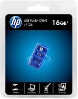 HP V112b 16 GB Fancy Pendrive Blue