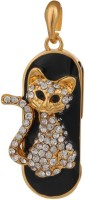 Zen The Master Style Cat 16 GB Pen Drive Gold
