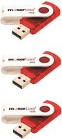 Moserbaer Pack 3 Swivel 16 GB Pen Drive