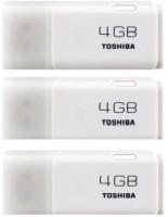 Toshiba Hayabusa (Pack of 3) 4 GB Pen Drive