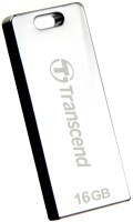 Transcend JetFlash T3S 16 GB Pen Drive Steel
