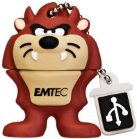 Emtec Looney Tunes Taz 8 GB Pen Drive Brown