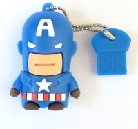 Seasonz International Superhero Capatain America 16 GB Pen Drive