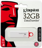 Kingston DTIG4/32GB 32 GB Pen Drive White & Red