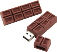 The Fappy Store Chocolate 32 GB Pen Drive