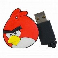 Its Our Studio Angry Birds Designer 4 GB Pen Drive Red