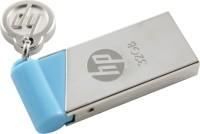 HP V 215 B 32 GB Utility Pen Drive Silver & Blue