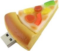 BrandAxis Pizza Shape USB 4 GB Pen Drive Multicolor
