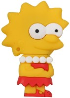 Zen The Master Simpsons Lisa 16 GB Pen Drive Yellow