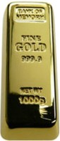 Icable Gold Bar Shape 16 GB Pen Drive