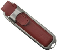 ATAM AEL-02 Leather 8 GB Pen Drive Brown