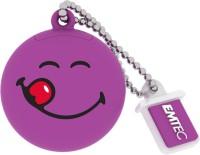 Emtec Smiley's World 8 GB Pen Drive Purple