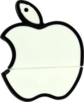 The Fappy Store White apple shape 8 GB Pen Drive