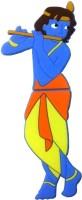 Zeztee God Krishna Cartoon Character Shape 8 GB Pen Drive