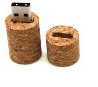 Brandaxis Bottle Cork USB 4 GB Pen Drive Brown