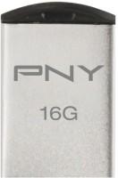 PNY USB Flash Drive Micro M1 Attache16GB 16 GB Pen Drive Silver