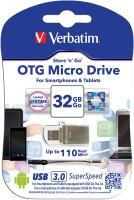 Verbatim 49826 32 GB Pen Drive Grey