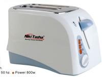 Nikitasha NT-PT-2009 800 W Pop Up Toaster White